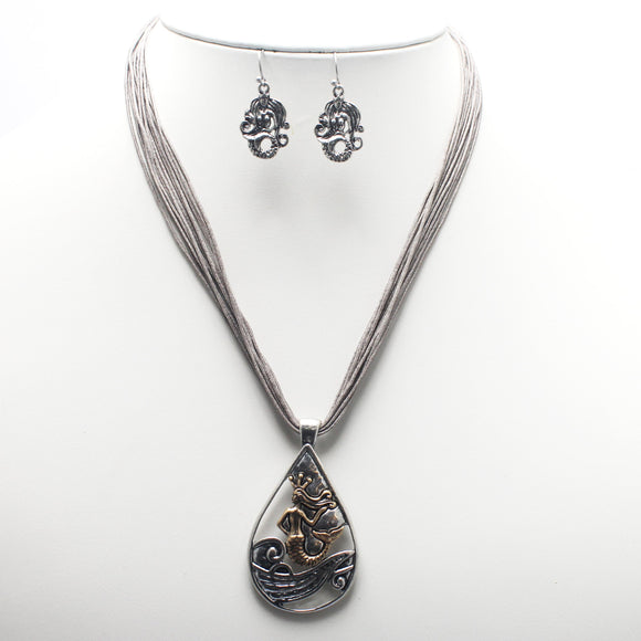 Mermaid necklace set - SBGB