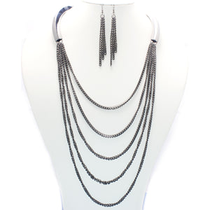 MULTI CHAIN NECKLACE SET
