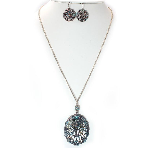 BOHEMIAN NECKLACE SET - Pink Vanilla
