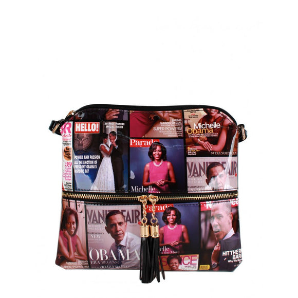 Michelle Obama crossbody bag - multi