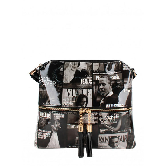 Michelle Obama crossbody bag - black