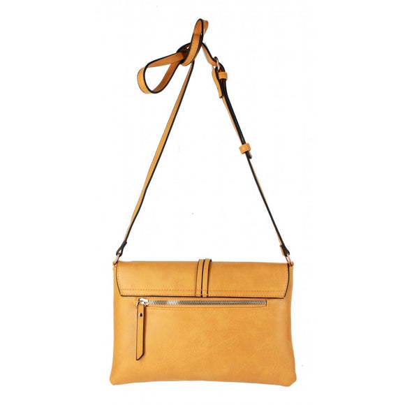 Knot crossbody bag - brown