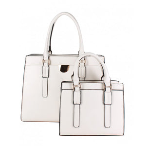 Classic tote double set - off white