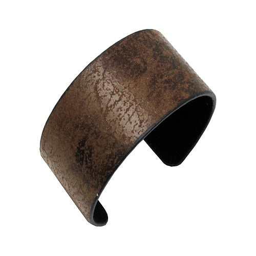 Leather like cuff bracelet