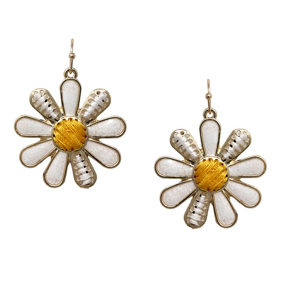 [2PCS] Flower daisy earring
