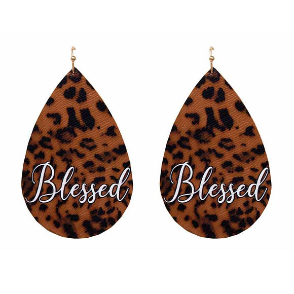 [12PC] Leopard tear drop - blessed