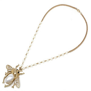 Insect Goldbug necklace set