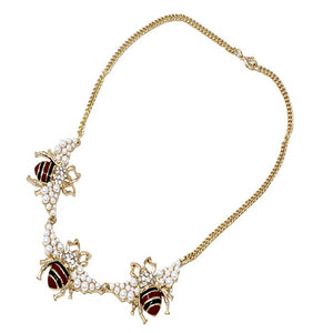Insect  necklace set