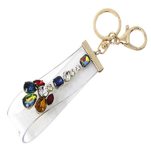 KEY CHAIN - CRYSTAL STUDS
