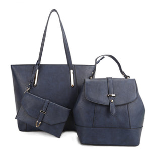 Tote and crossbody bag - navy