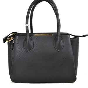 Classic medium satchel - black