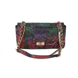 Graffiti chain crossbody bag - multi5