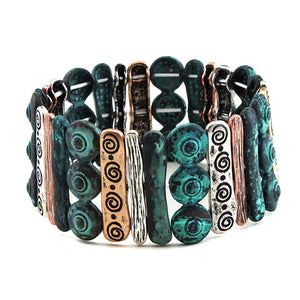 MIX METAL BAR BRACELET