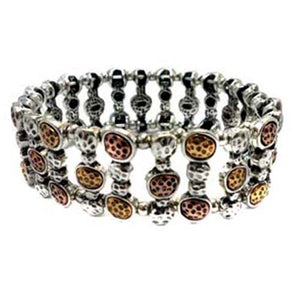 STRETCH MIX METAL BRACELET