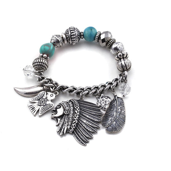 [12PC] Native American Bracelet- 4506sbtq