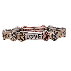[2 PCS] Paw love bark bracelet - mtb