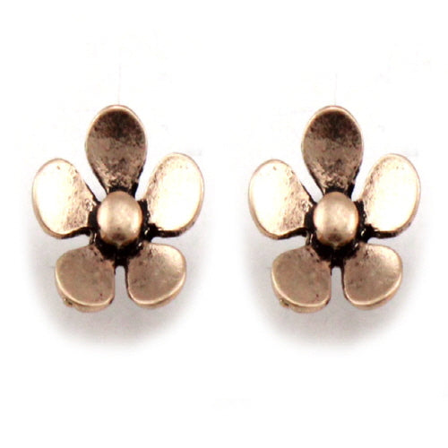 FLOWER EARRING - GOLD