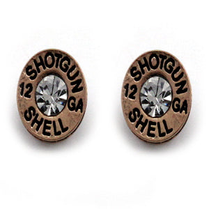 SHOTGUN SHELL EARRING - GOLD