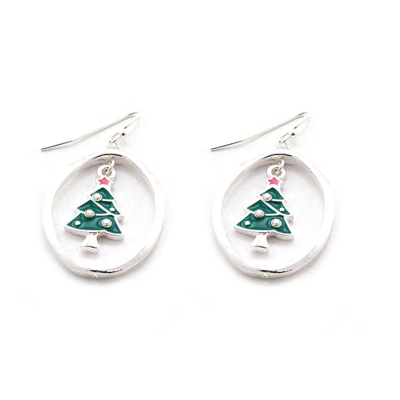 [12PC] Christmas Tree earring