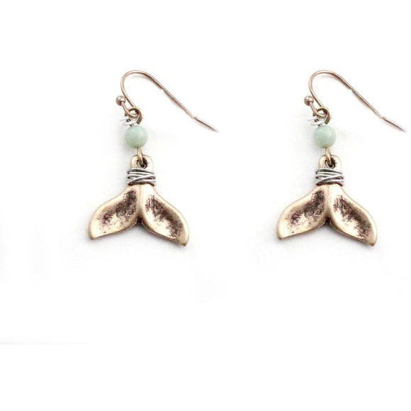 WHALE TAIL EARRING