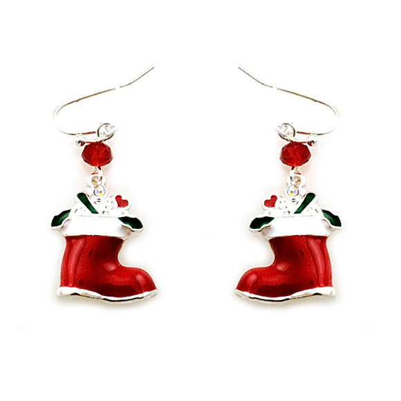 [12PC] Christmas Socks earring