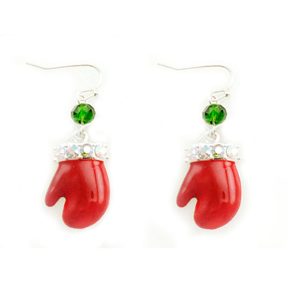 [12PC] Christmas Gloves earring