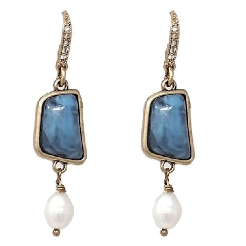 Fashion fresh water pearl earring