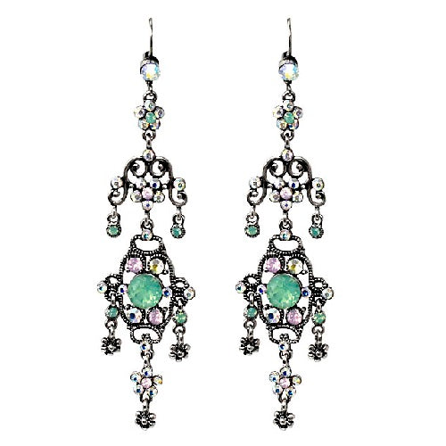 Bohemian chandelier earring - multi
