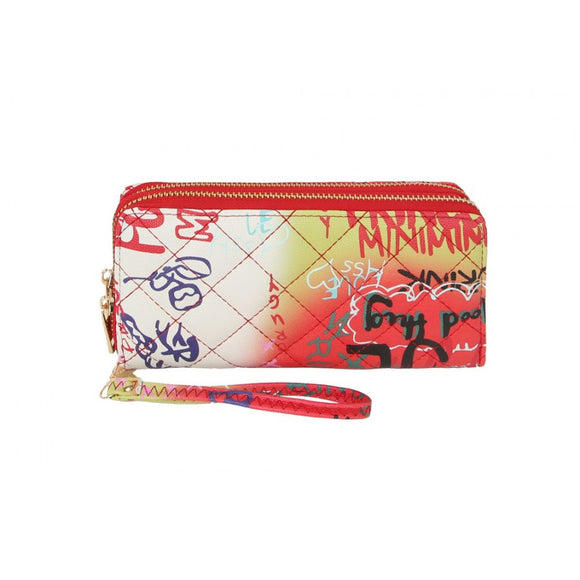 Graffiti wallet - multi 2