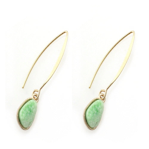 FRENCH HOOK DRUZY - MINT