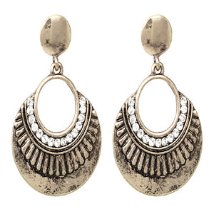 BOHEMIAN EARRING - ANTIQUE GOLD