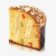 Colomba Pasquale with Sorrento Lemon Cream and Orange Candied Fruit - Pasticceria Scarpato