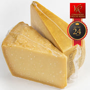 "Parmigiano Reggiano PDO""Vacche Rosse/Red cows"" seasoned 24/30 months"