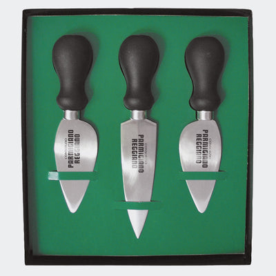Pack of 3 professional cheese knives Parmigiano Reggiano