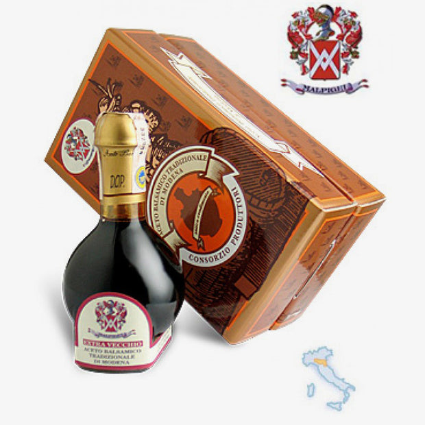 Acetaia Malpighi - Traditional Balsamic Vinegar of Modena 25 Years - Fine Food Gifts | Italian Gift Baskets – Dolceterra Italian Within US Store‎
