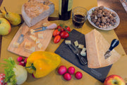 Cheese Tasting Set in Slate Stone 'Parmigiano Reggiano'