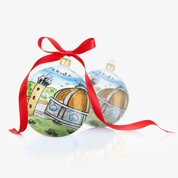 FIRENZE Hand-Painted Christmas Balls Ornaments