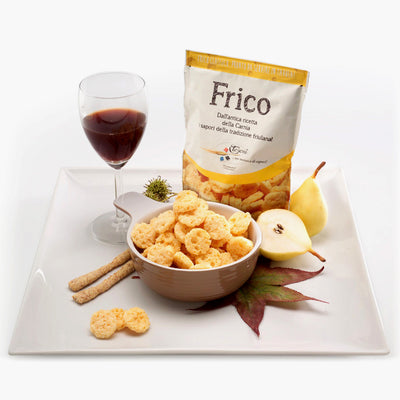 Frico Crunchy Cheese - Ancient Friulian Recipe