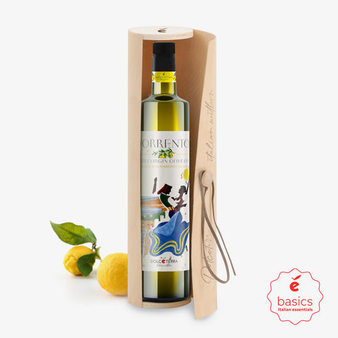 Dolceterra Cold-Pressed Lemon Flavored Olive Oil