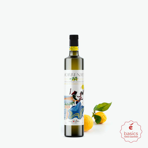 Dolceterra Cold-Pressed Lemon Flavored Olive Oil - Small 8.8 oz