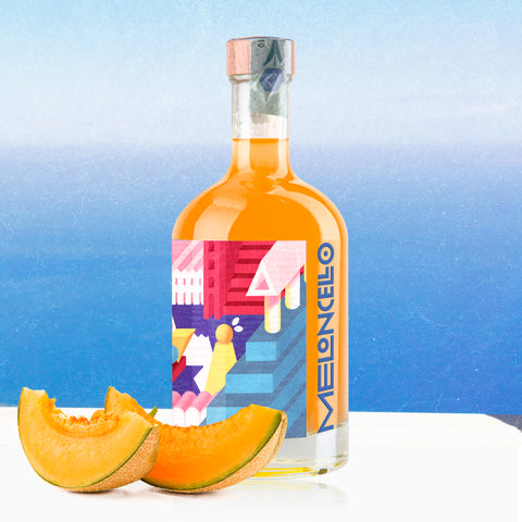'Furore' Memoritaly Meloncello - Italian Digestive crafted liqueur with Gift Box
