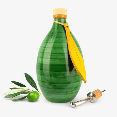 Memoritaly - 'Puccini' Tuscan Extra Virgin Olive Oil Reserve Jar
