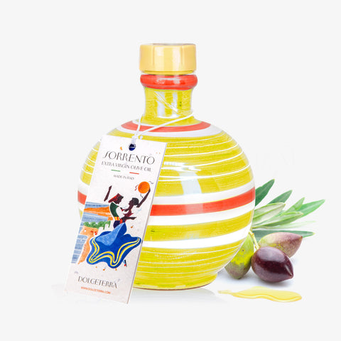 """Sorrento"" Love is Yellow Dolceterra Jar Mignon"