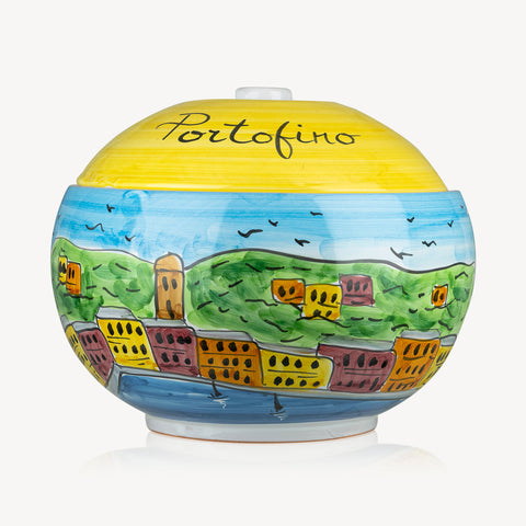 Portofino - Handmade Cookie Jar