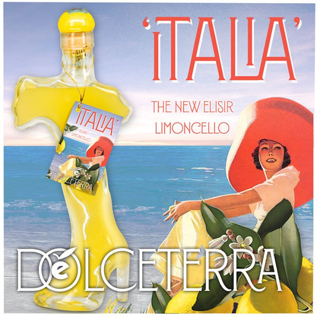 Gift Basket 'ITALIA' The New Elisir Limoncello of Sorrento - Fine Food Gifts | Italian Gift Baskets – Dolceterra Italian Within US Store‎