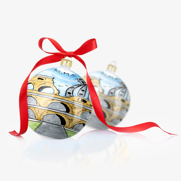 ROMA Hand-Painted Christmas Balls Ornaments