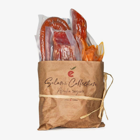 Dolceterra collection: salami apulia 6 artisan-made - Fine Food Gifts | Italian Gift Baskets – Dolceterra Italian Within US Store‎