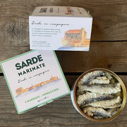 Sarde Marinata Selvatica SLOW FOOD Traditional of Comacchio Valleys