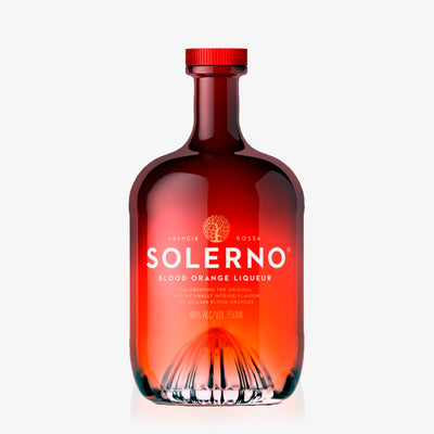 Solerno liqueur of Sicilian Blood Oranges