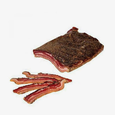 Pancetta Norcia - Peppered (whole) - Fine Food Gifts | Italian Gift Baskets – Dolceterra Italian Within US Store‎